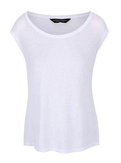 Bílé tričko bez rukávů Dorothy Perkins