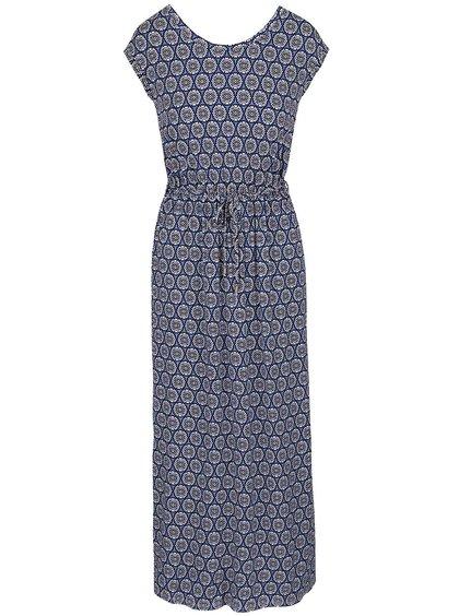 Modré maxi šaty s kvetovým vzorom Dorothy Perkins