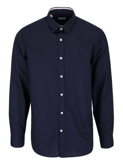 Cămașă slim fit bleumarin Selected Homme Xoneandy