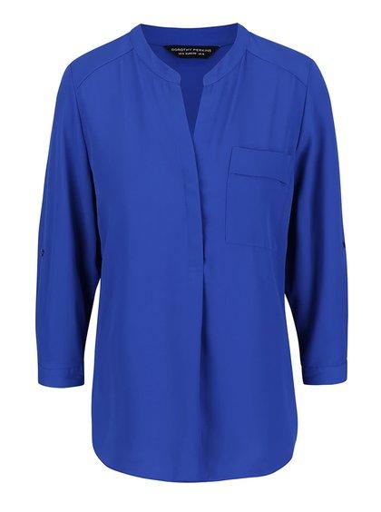 Modrá halenka s kapsou Dorothy Perkins