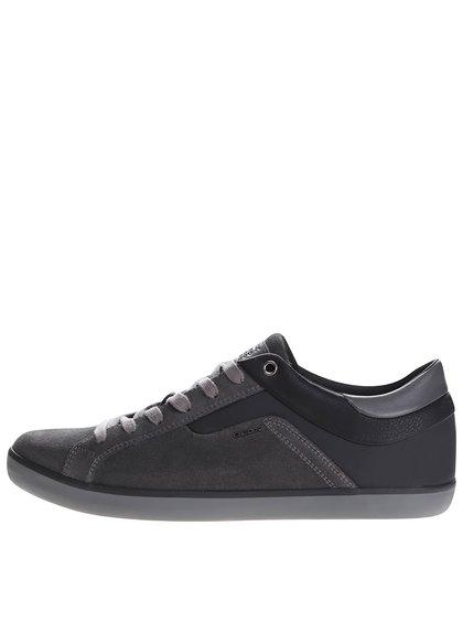Černo-šedé pánské tenisky Geox Box C