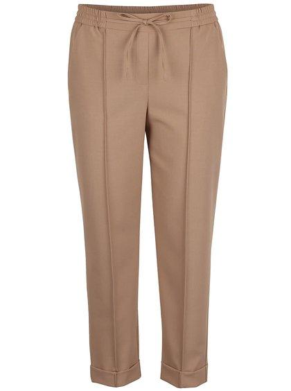 Svetlohnedé osminkové nohavice Dorothy Perkins