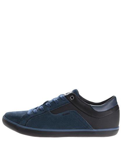 Černo-modré pánské tenisky Geox Box C