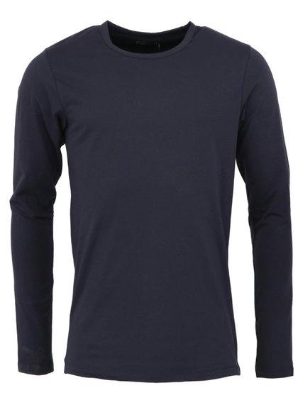 Tmavě modré triko s dlouhým rukávem Jack & Jones Basic