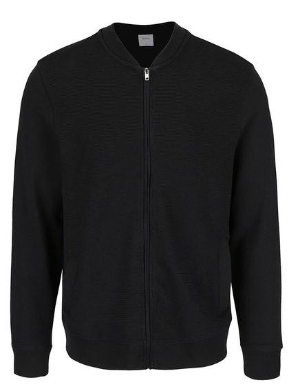 Jachetă bomber neagră Burton Menswear London
