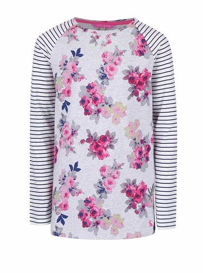 Bluză din bumbac cu imprimeu Tom Joule MishMash pentru fete