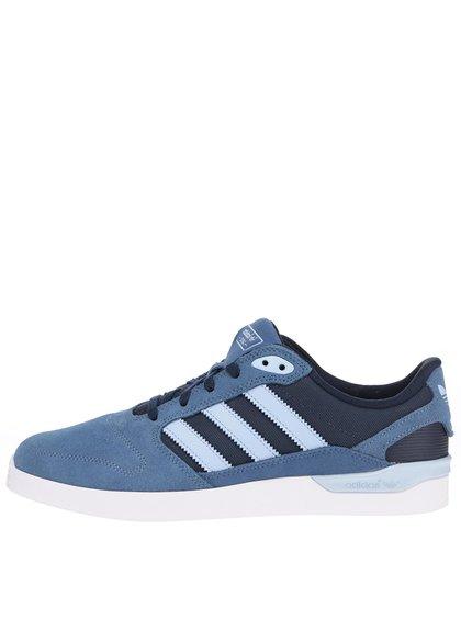 Světle modré pánské semišové tenisky adidas Originals ZX Vulc