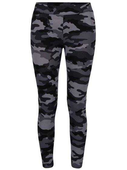 Leggings gri TALLY WEiJL model camuflaj