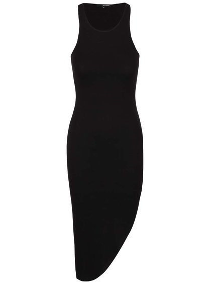 Černé asymetrické šaty TALLY WEiJL