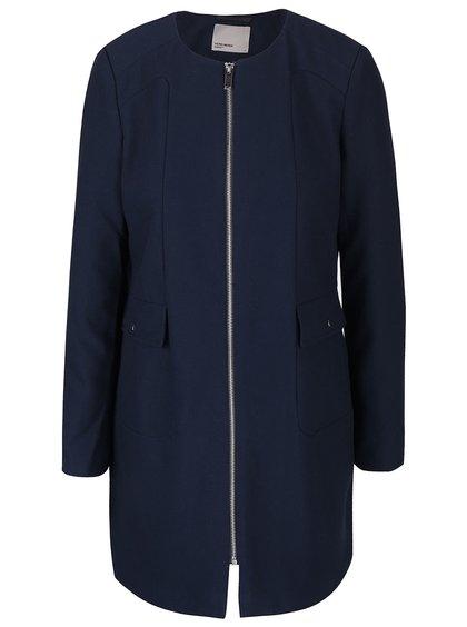 Tmavě modrý kabát VERO MODA Glory