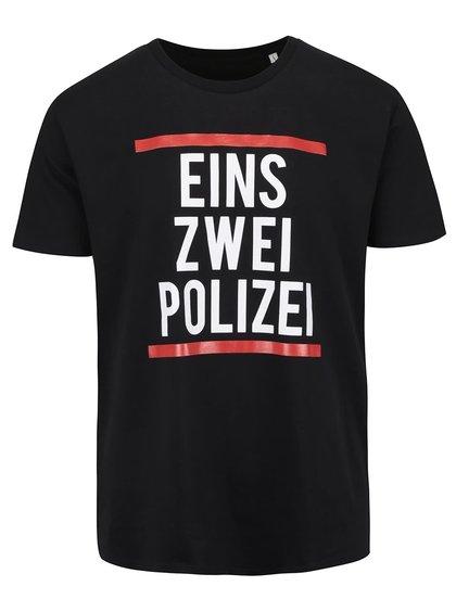 Černé pánské triko ZOOT Originál Polizei