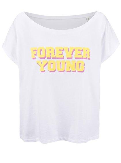 Bílé dámské volnější tričko ZOOT Originál Forever Young