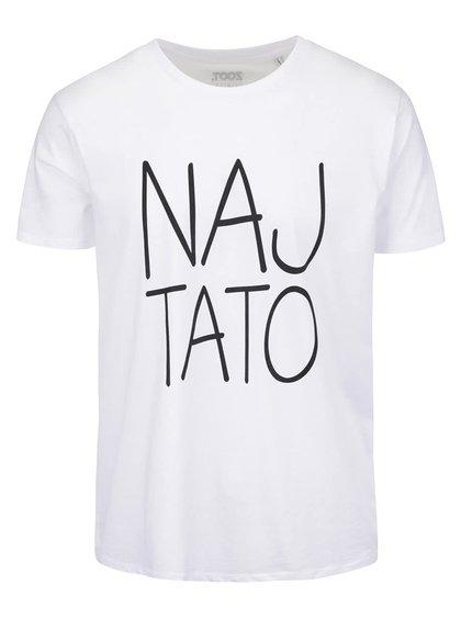 Bílé pánské triko s potiskem ZOOT Originál Naj tato
