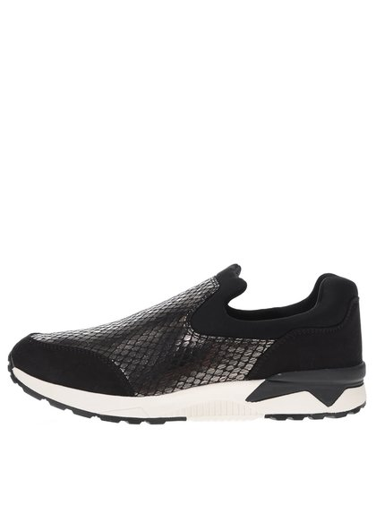 Pantofi sport negri Tamaris