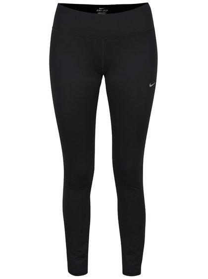 Čierne dámske legíny Nike DF Epic Run