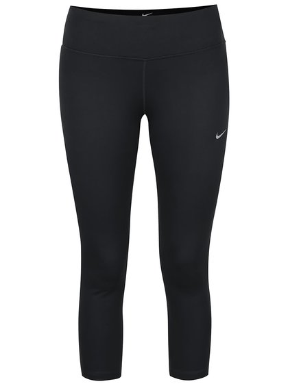 Colanți capri negri Nike DF Epic Run