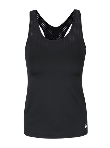 Čierne dámske tielko Nike Pro Hypercool
