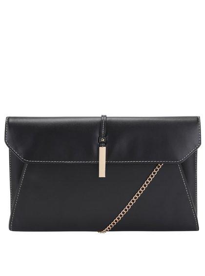 Černé psaníčko/kabelka s řetízkem Dorothy Perkins