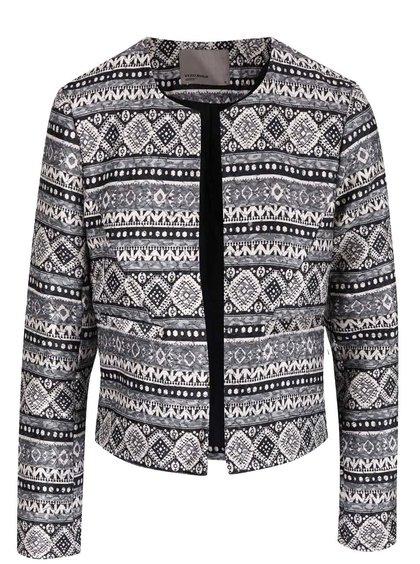 Jachetă subțire VERO MODA Cara cu imprimeu