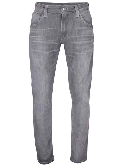 Sivé pánske regular rifle Pepe Jeans Zinc