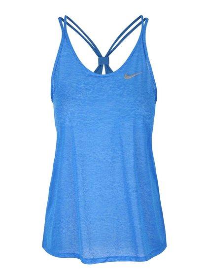 Top albastru subțire Nike Dri-Fit Cool