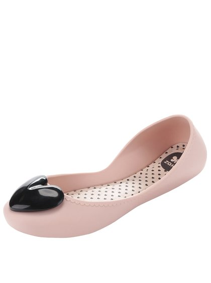 Balerini roz Zaxy Start Romance cu inimă