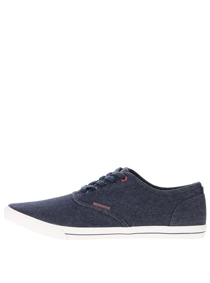 Teniși bleumarin din denim Jack & Jones Spider
