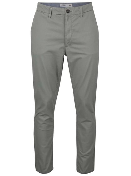 Pantaloni chinos gri slim fit Burton Menswear London