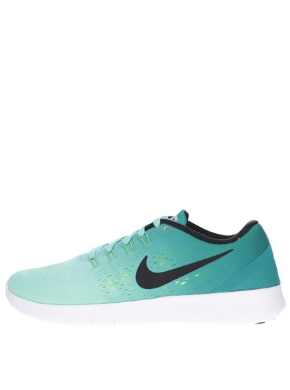 Tyrkysové dámske tenisky Nike Free RN