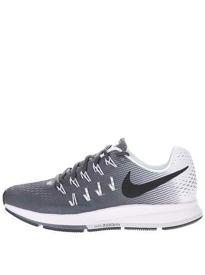 Sivo-čierne dámske tenisky Nike Air Zoom Pegasus 33