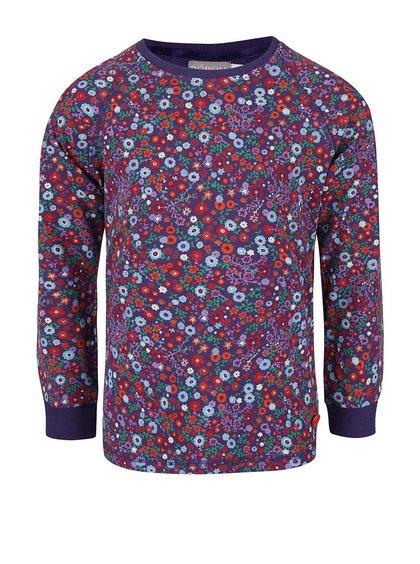 Bluză violet cu imprimeu floral Boboli pentru fete