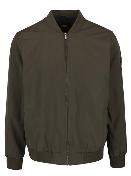 Kaki bomber Burton Menswear London