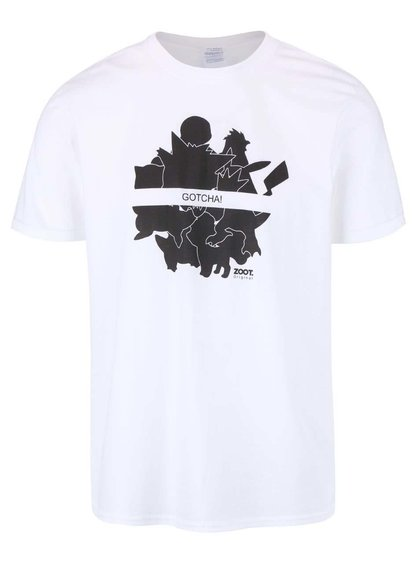 Tricou alb de bărbați ZOOT Original Gotcha