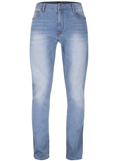 Světle modré vyšisované džíny !Solid Ryder Stretch