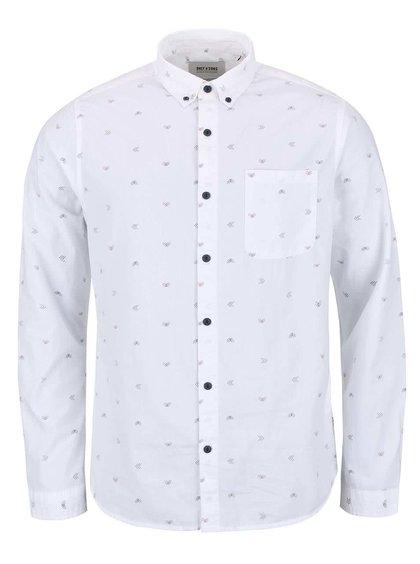 Bílá košile se vzorem ONLY & SONS Sasben