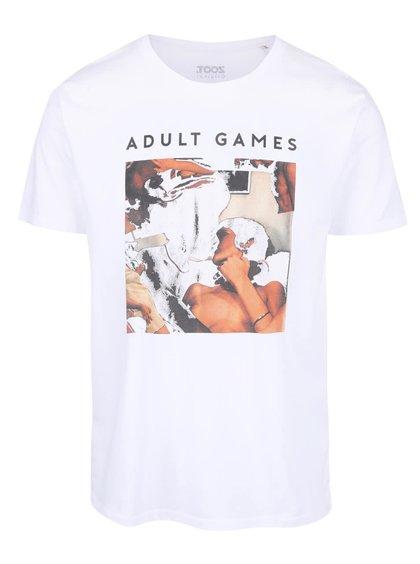 Biele pánske tričko ZOOT Originál Adult Games