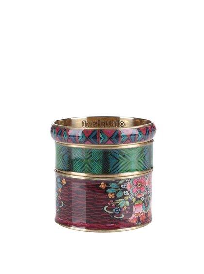 Set cu 3 brățări multicolore Desigual Ikara
