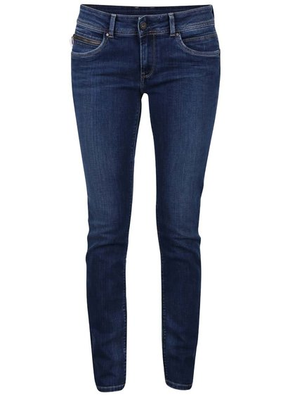Modré dámske slim fit rifle Pepe Jeans New Brooke