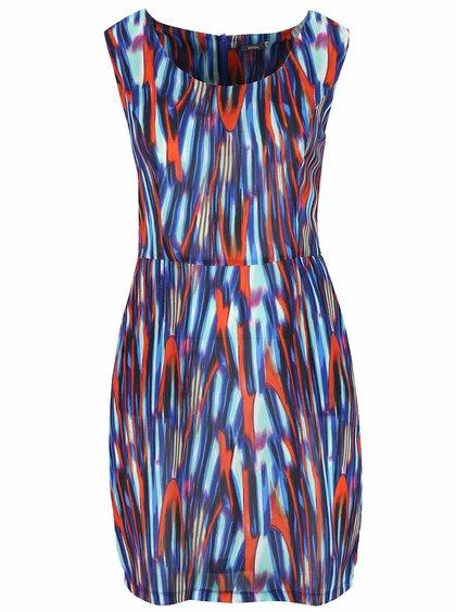 Modré melírované šaty bez rukávov ZOOT Now