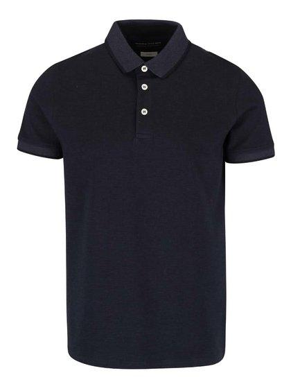 Tmavě modré polo triko Jack & Jones Paulos