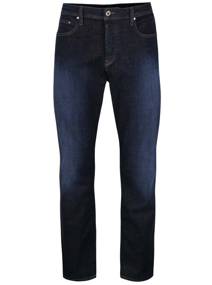 Modré džíny s vyšisovaným efektem Original Penguin Dean