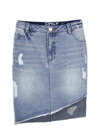 Modrá džínová sukně ONLY Ava Reg