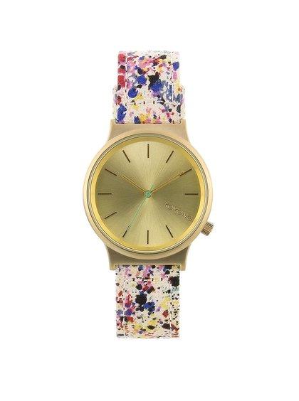 Farebné unisex hodinky Komono Wizard Print