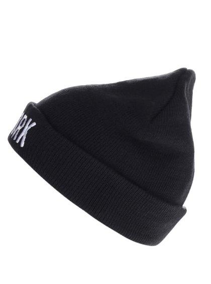 Čierna dámska čiapka s výšivkou TALLY WEiJL