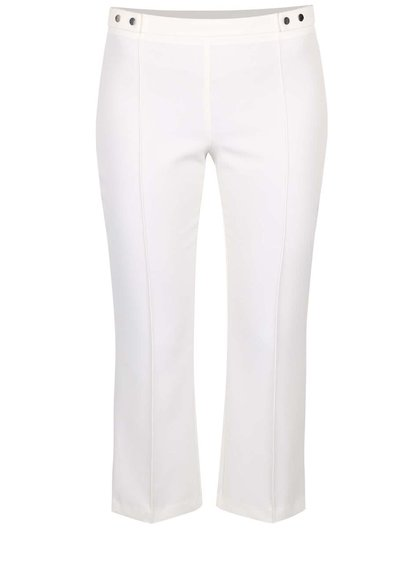 Krémové crop kalhoty Dorothy Perkins