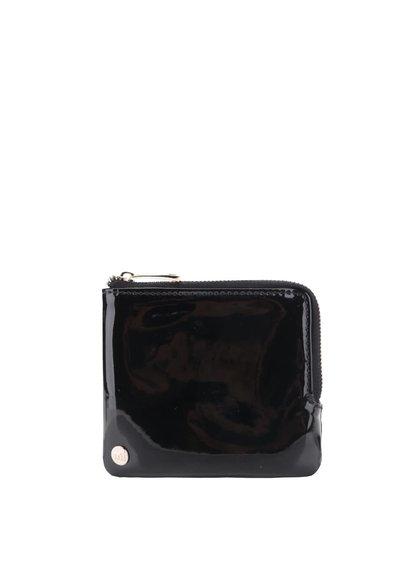 Černá dámská lesklá peněženka Mi-Pac Coin Holder