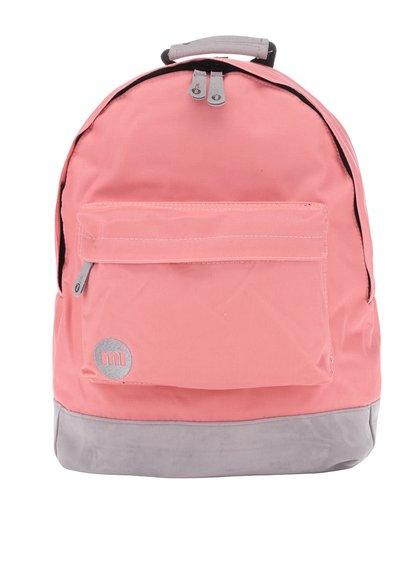 Šedo-růžový unisex batoh Mi-Pac Classic