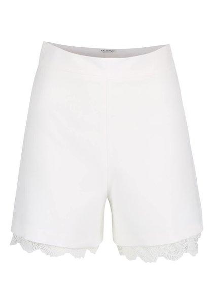 Pantaloni scurți cu aplicație din macrame Miss Selfridge