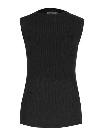 Černý svetr bez rukávů Haily´s Ina