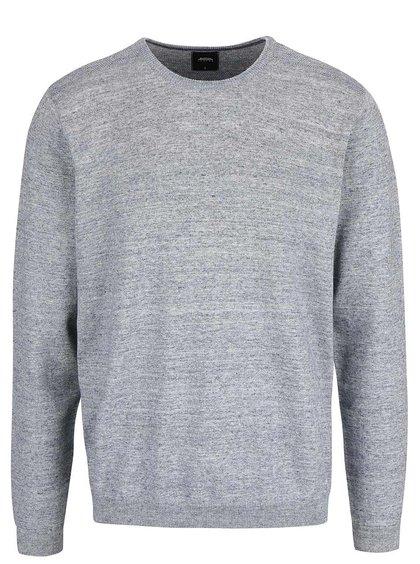 Šedomodrý svetr Burton Menswear London